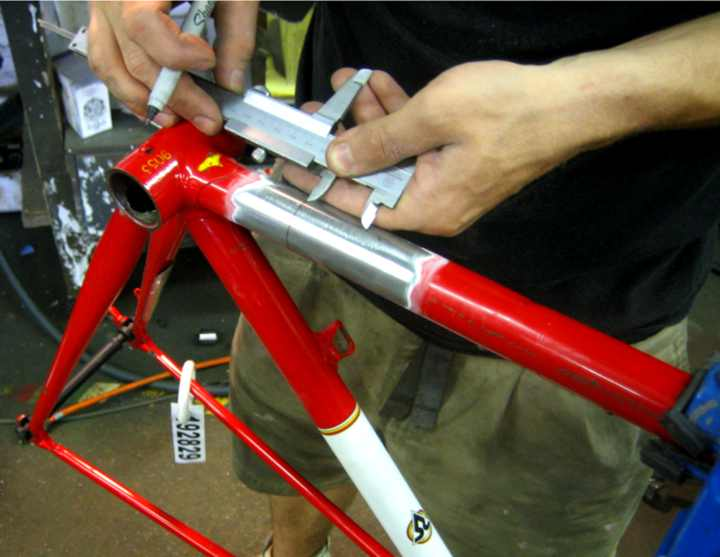 Richard Sachs Road Bike Retrofit With S And S Couplings By