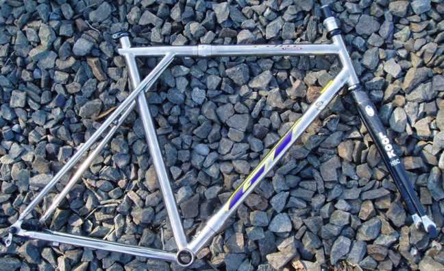 GT Edge Titanium Road Bike Retrofit by Bilenky Cycle Works