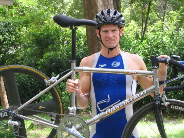 Quintana Roo Titanium Picanti Road Bike Retrofit By