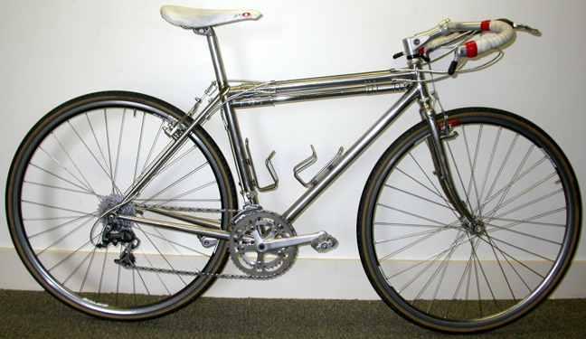 Bilenky Stainless Steel Cyclocross Touring Bike