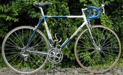 99a4de212695 Retrofit by J. P. Weigle  Marinoni titanium road frame retrofit by True  North Cycles  Masi road bike ...