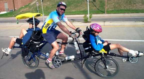 Tandem Front Recumbent Back Upright Bike Forums