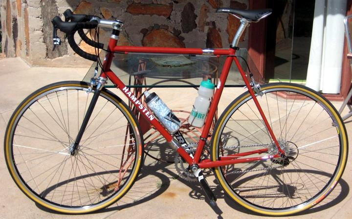 Hampsten Cycles Travelissimo With S And S Couplings