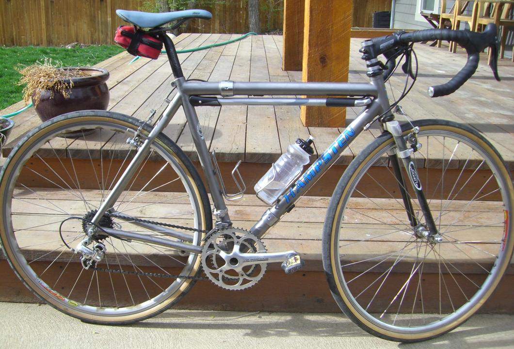Hampsten Cycles Ti Strada Bianca Travelissimo With S And S Couplings