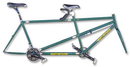 Rock Lobster road tandem frame and fork