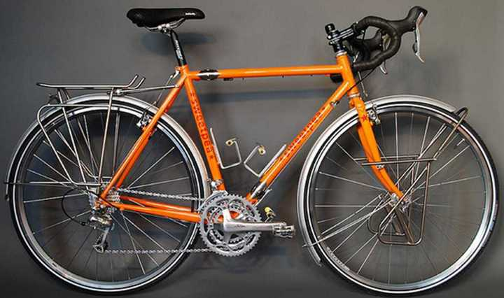 Sweetpea Bicycles Touring Bike With S And S Couplings