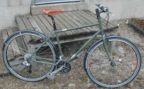 True North Cycles Bicycle with S and S Couplings